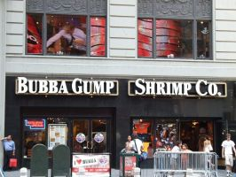 Bubba Gump by TheFangyFae