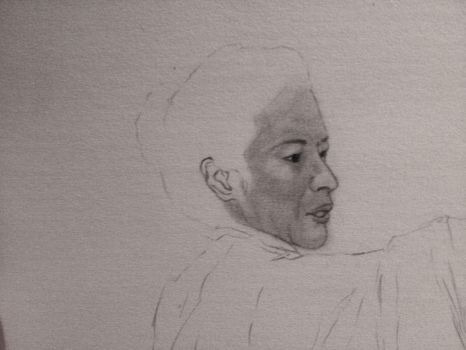 Michelle Yeoh WIP by Chifaire