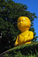Giant Yellow Baby by stevecliff