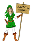 Link - OC - Journal Doll by Linkage92