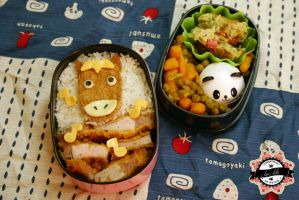 Happy New Year Bento by RiYuPai