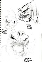 Rancor Sketches by ayelid