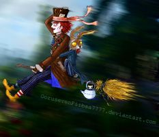 We're Flying Like a Tea Tray by OorusevenFiibaa7777