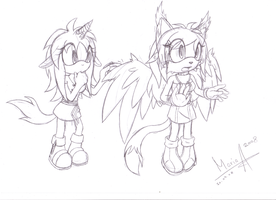 Sketch Request: Amarena-Berry by MariahAcorn