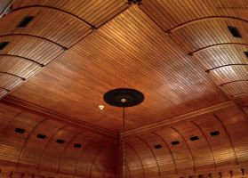 Old Wood Ceiling by alimuse