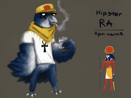 Hipster Ra by Noisemaker111