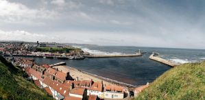 Whitby Panorama by spr33