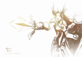 Leona, the Radiant Dawn (August 29th, 2013) by Alex-Chow
