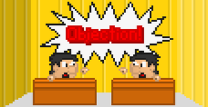 D-Man: Ace Attorney: Deal Attorneys by PixelatedYoshi