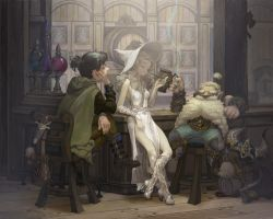 White witch's Bar by dkfktl1004