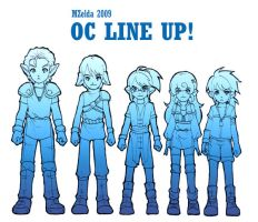 OC LINE UP by MZ15