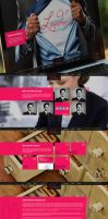 January PSD Theme by alwinred