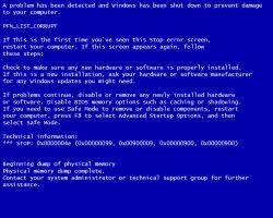 The Blue Screen Saver of Death by the-black-wolf-co-uk