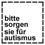 German Please Cater for Autism stamp by dev-catscratch