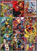 Marvel 2012 Greatest Heroes Sneek Peek by PencilInPain