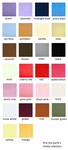 minky selection - smooth plush colours by tiny-tea-party