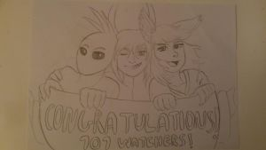 Congratulations for 101 watchers! by Sesta-Outlaw