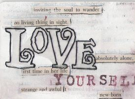 Love Yourself - ATC by WordsAreMyWeakness