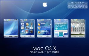 Mac OS X Theme for Nokia 5200 by Promatik