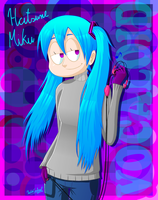 Casual Miku by UmbrellaUnrequired