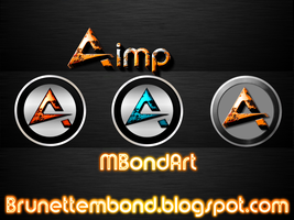 Aimp Modern Icons by Brunette28