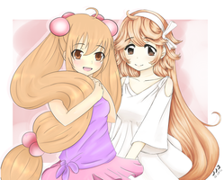 Rin and Mimi colab by MyC-chan