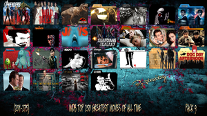 IMDB Top 250 Greatest Movies Of All Time-Pack 9 by gterritory