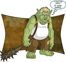Basement Ogre by Goldenwolf