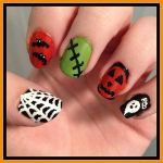 Halloween Nail Art by Miss-Reptilian
