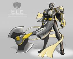 "Ele ""The Elephant Ranger"" by the-newKid"
