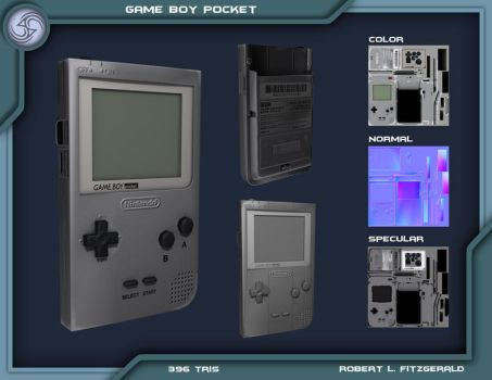 Game Boy Pocket by Robemon3689