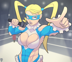 R.Mika - The Seven Colored Bomber by WolFadeArt