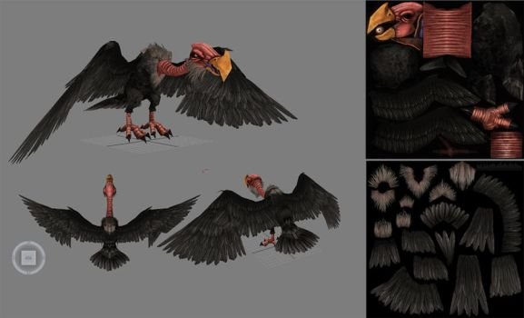 Vulture by CaseyD2K