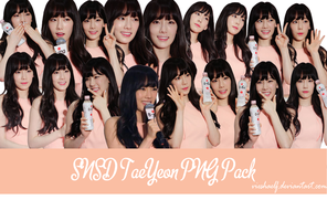 140410 - SNSD TaeYeon PNG Pack by VieshaELF