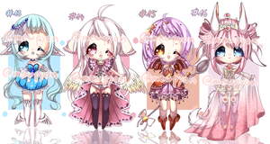 ADOPTS: Fantasybby's [CLOSED] +* by Mewpyonadopts