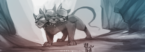 Cerberus by FoxInShadow