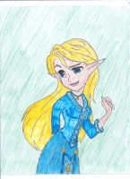 Zelda: Loves Reaction: That Blue Dress by Zelink5