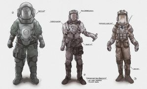 Bio medical suits by Leo-Aba