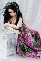 Flover Dress.. by ball-jointed-Alice