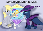 Congratulations /mlp/!! [ + Speedpaint ] by Sintakhra