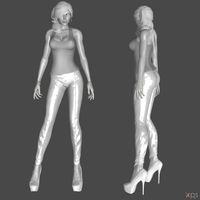 Lara Everyday outfits WIP by ZayrCroft