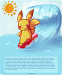 Surfing Pikachu Skin by JAYWlNG