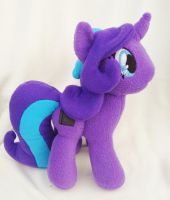 Purple Pony Plush Commission by Sparkle-And-Sunshine