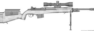 M14 Scout Sniper by Timaman