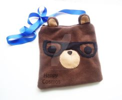 Nerdy Bear Bag by CosmiCosmos