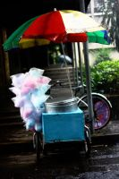 The Cotton Candy Seller by lemonessence