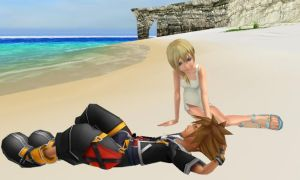 Namine is in love with sora :D by SorasPrincesss