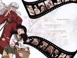 Inuyasha Film Strip by CrimsinSight