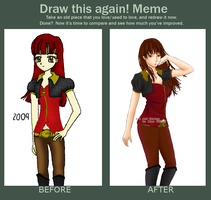Meme: Draw this again by l-LiaN-l