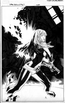magik one shot cover by MarkMorales